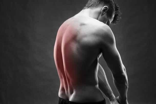 Building up your back muscles means less pain.