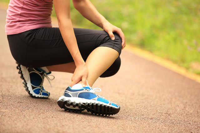 Try shortening your stride to combat calf pain.