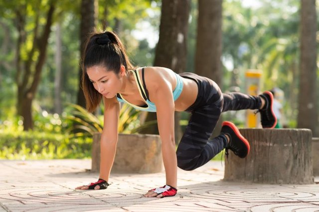 Push-up variations torch tons of calories.