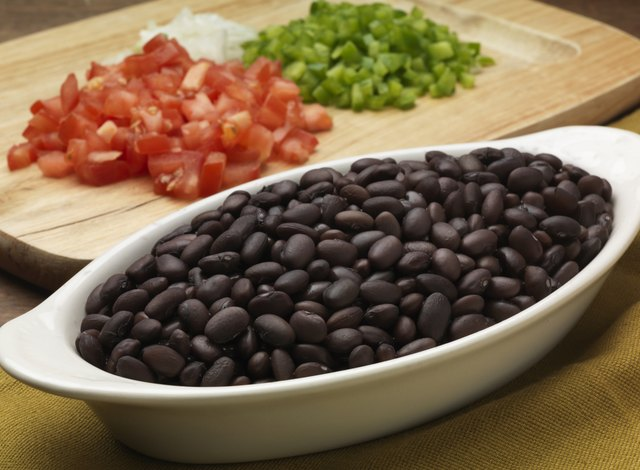 the fiber in beans can be beneficial
