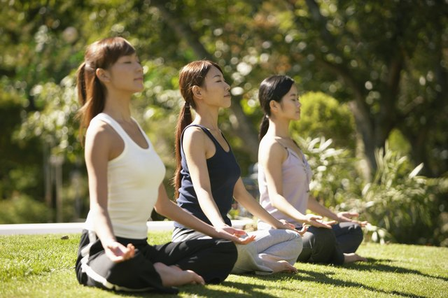 Yoga may help control your stress levels.