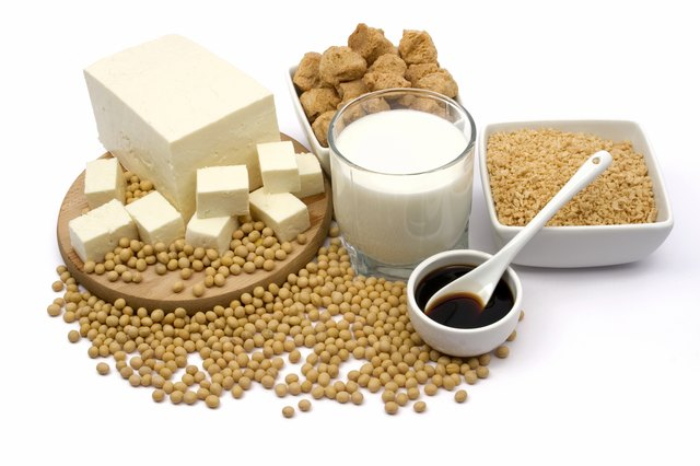 Soybeans and products.
