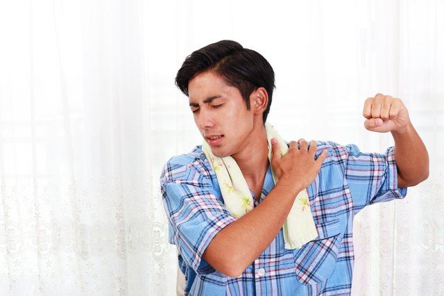 It's often difficult to move your shoulder after a separation injury.