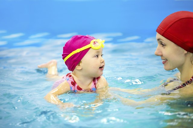 Swimming is great exercise for any child.