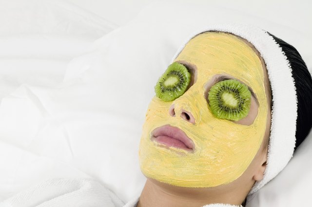 Facial masks help get rid of old cells.