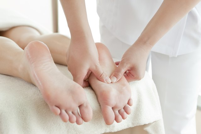 Reflexology can relieve pain in the body.