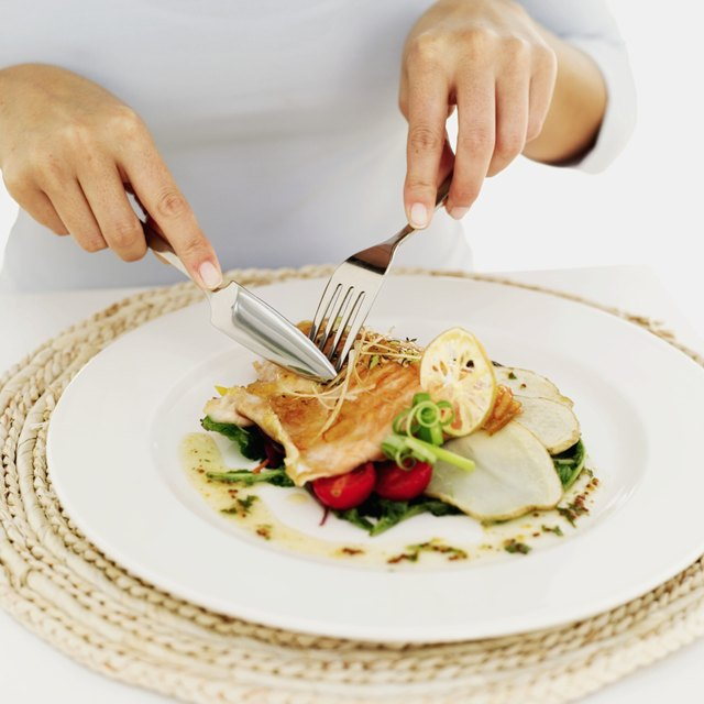 Learn to eat smaller portions on smaller plates or bowls.