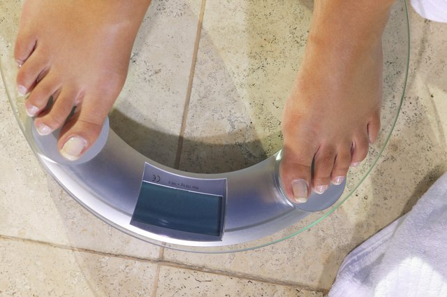 Any weight loss over 1 pound per day usually is due to losing water weight.