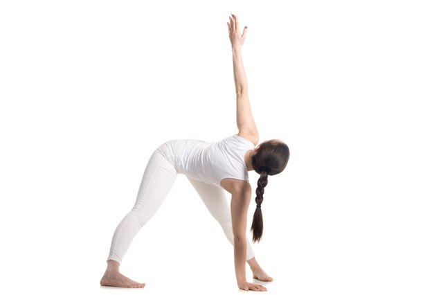 Stretch your spine and warm your muscles up dynamically.