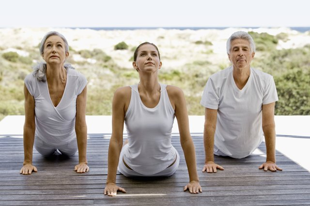 Yoga is one of the best weight-loss exercise for people over 50.