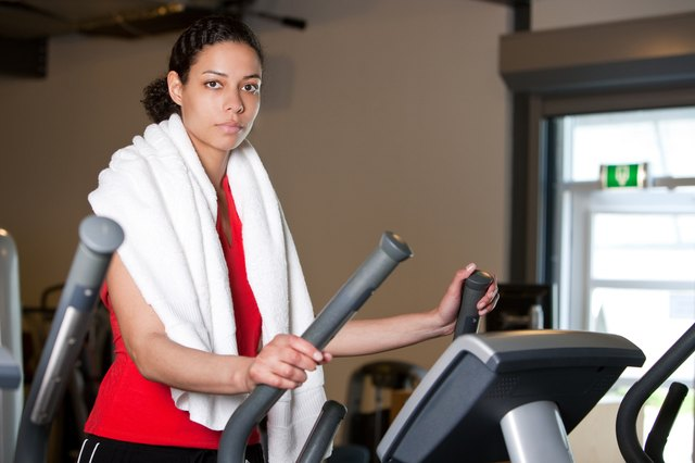 Work out at least 250 minutes per week at a moderate intensity -- or approximately 45 minutes, five days per week.