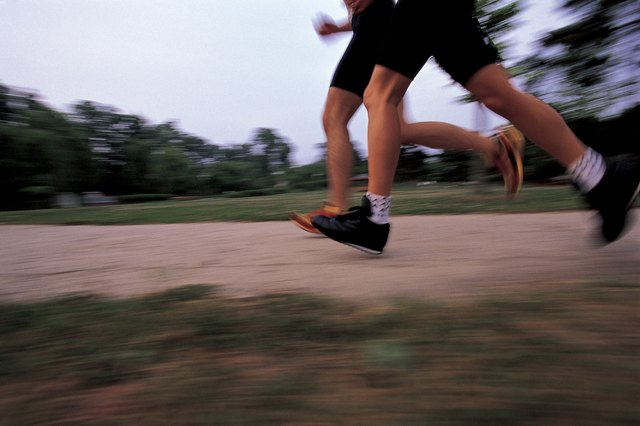 Pounding the pavement can stress weak joints, but it does build bone density.