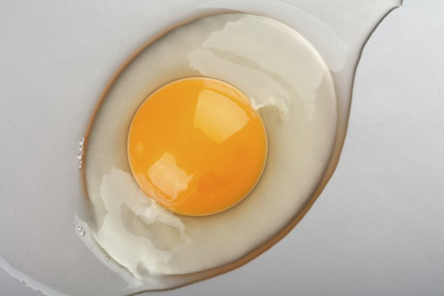 You can use egg yolks in a hair mask.