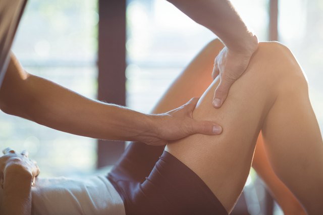 20 minutes of Swedish Massage is enough to help soreness.