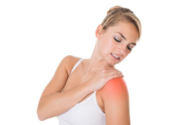 Pain from shoulder knots can be mild to intense.