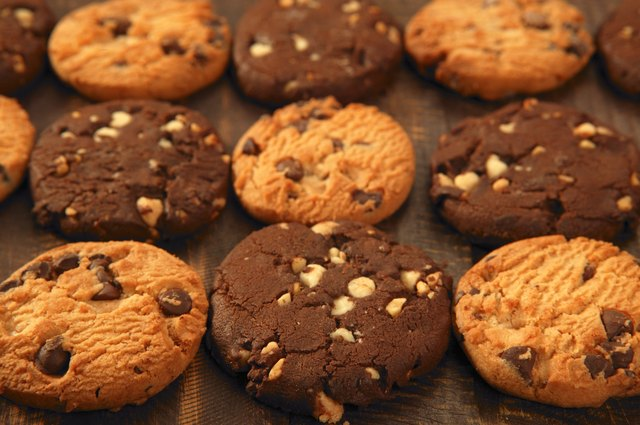 cookies and other baked goods are high in added sugar