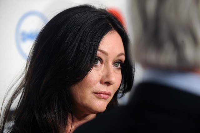 Actress Shannen Doherty in 2014 before her cancer diagnosis.