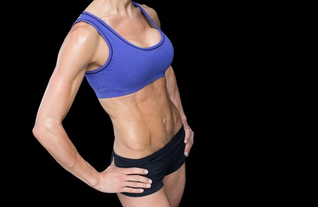 Sculpted abs come from a multi-faceted strategy, not just situps.