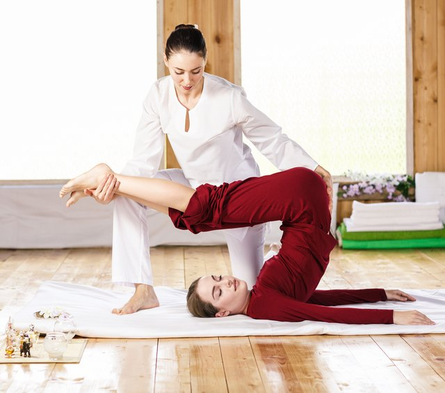 Thai massage can include postures not appropriate for certain populations.