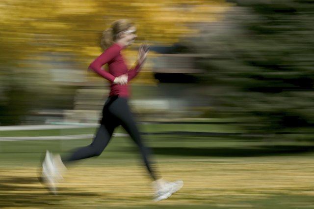 The faster your run, the more calories you'll burn for fat loss.