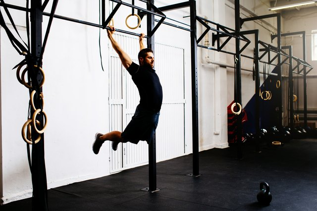 CrossFit encourages controversial kipping chin-ups, which involve swinging.