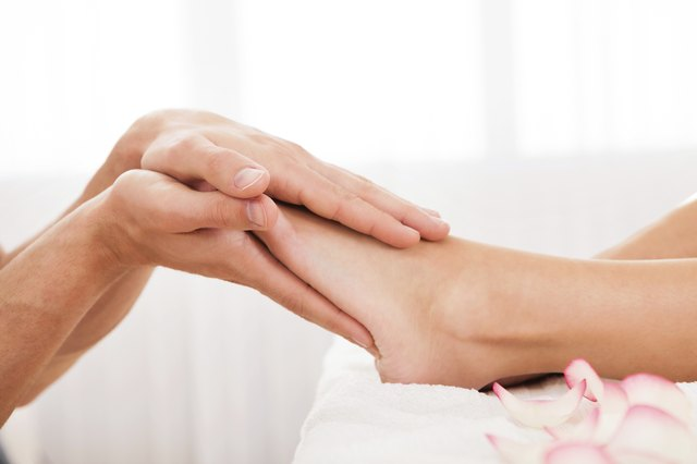 Deep relaxation can be achieved through reflexology.