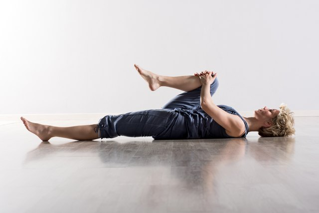 Stretches improve flexibility after low back surgery.