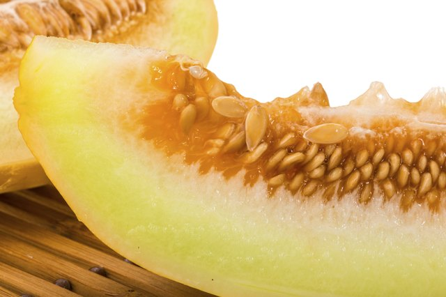 Fruits like melon can sometimes cause allergic reactions