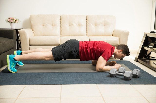 Try several plank variations.