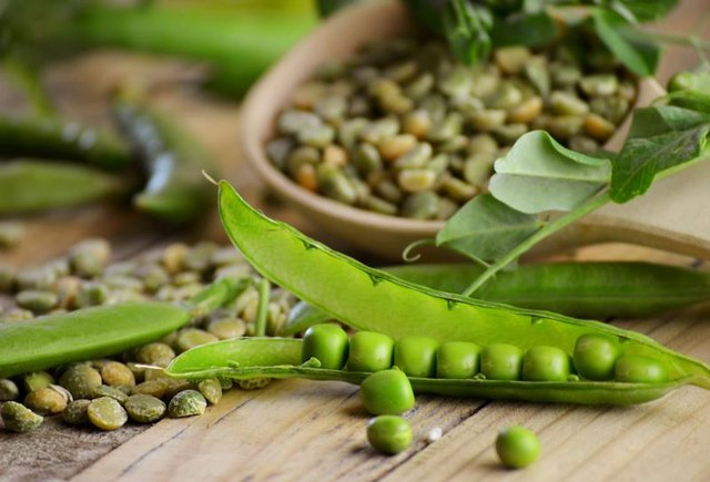 Dried Green Peas Nutrition