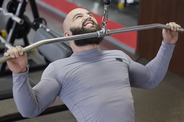 Cable pulldowns are a vertical pulling exercise, similar to pullups.