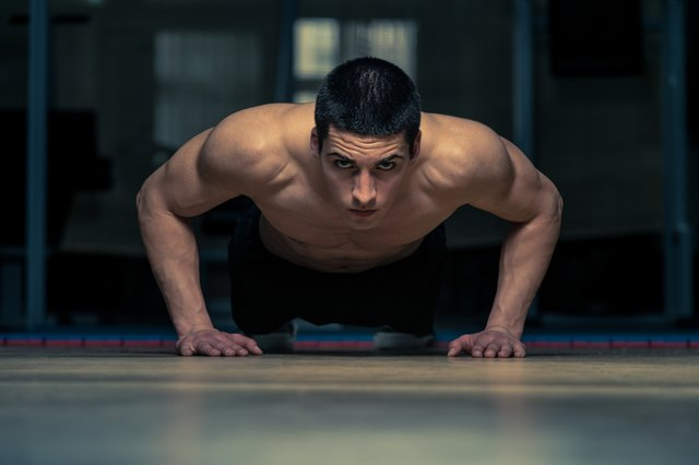 The push-up is one of the best exercises for a full-body workout