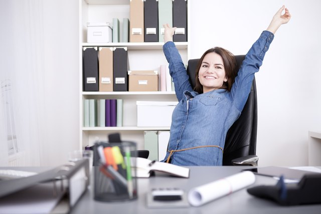 Perform thoracic stretches at your desk several times each day.