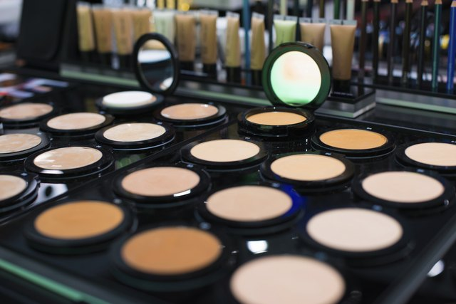 Proper makeup can make your skin tone look more even.