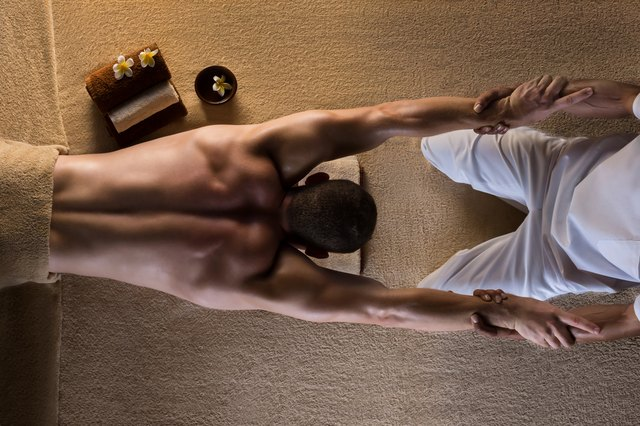 Stretching is an important component of Thai massage.