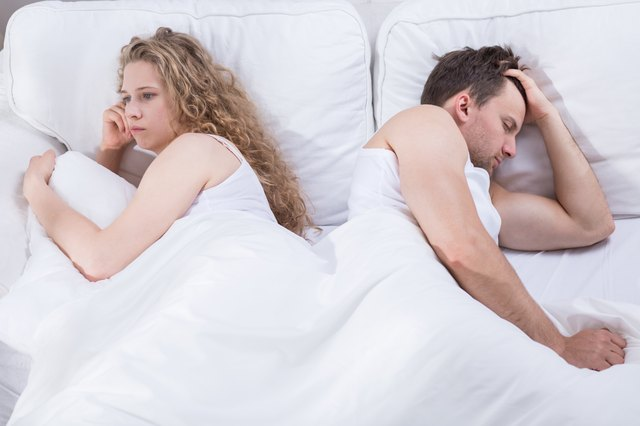 Lack of sex drive can cause trouble in relationships.