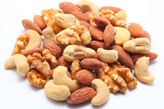Assorted nuts.