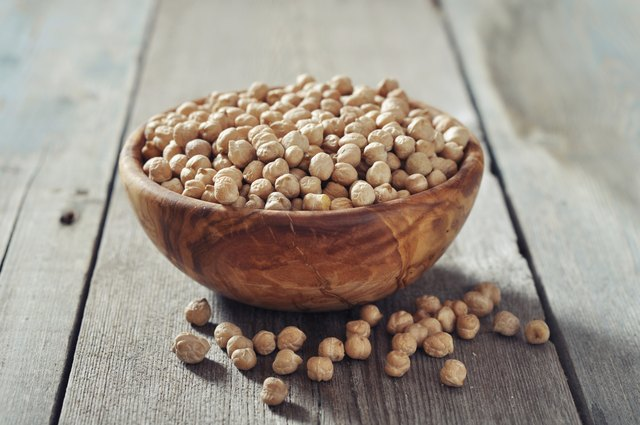 Chickpeas contain many nutrients.