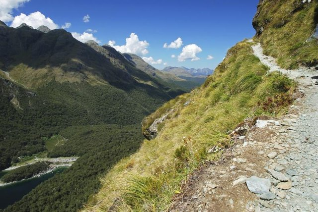 The Routeburn Track provides glorious views in season, but can be deadly when buried in snow.