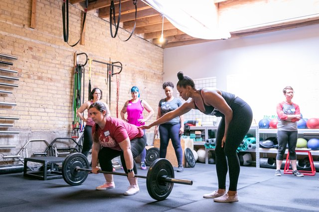 Chrissy King loves empowering other women through weightlifting.