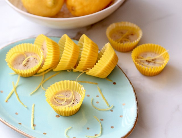 Inspired by Italian pine nut and lemon cake with sumac and lemon zest, these lemon drop fat bombs are mildly addictive.
