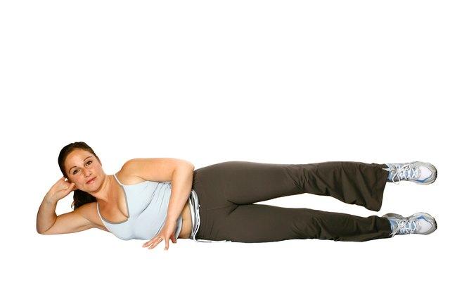 from Kamren muscle woman lying back