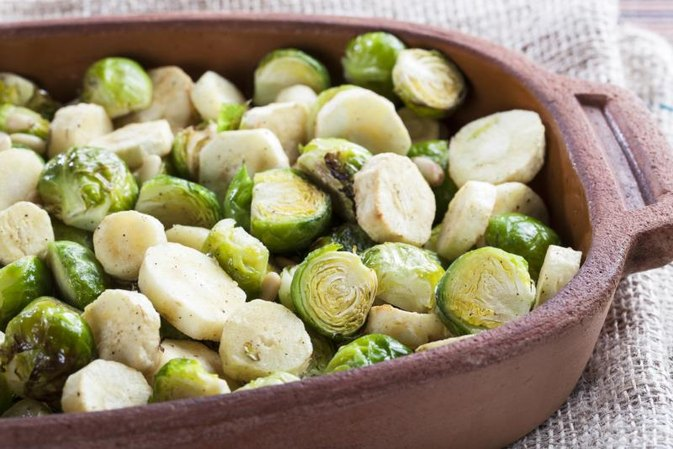 Nutritional Value for Roasted Brussels Sprouts