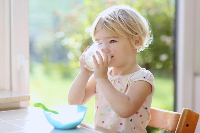 Should a Toddler With Phlegm Drink Milk?
