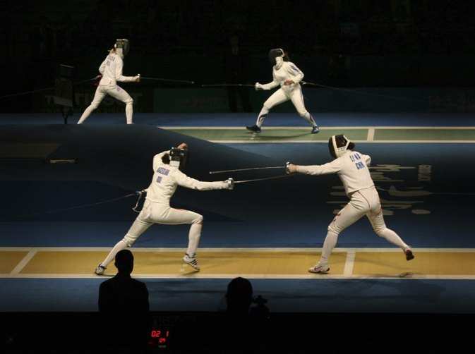 Three Types of Swords in Fencing