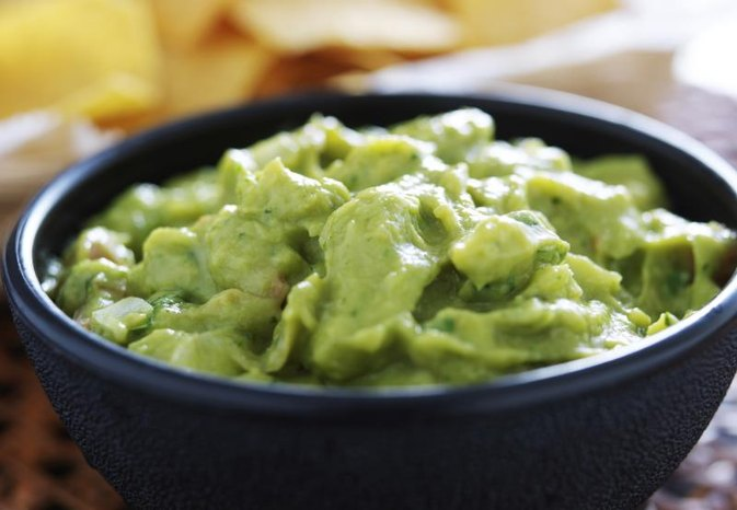 Calories in Chips & Guacamole