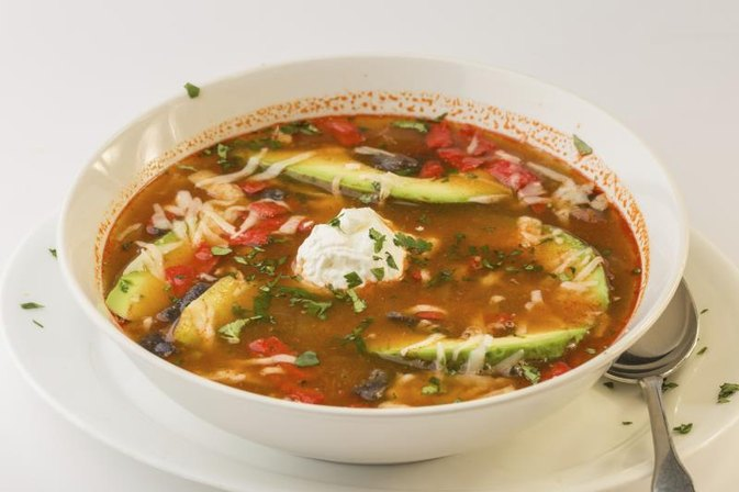 How Many Calories in Tortilla Soup?