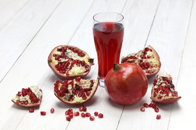 Pomegranate Juice & Vitamin C