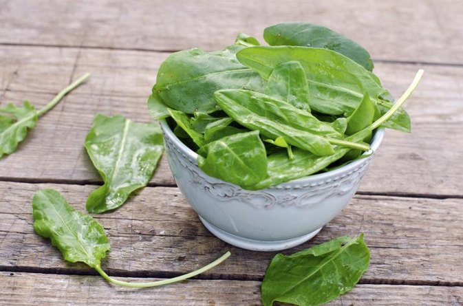 Baby Spinach Nutrition Information