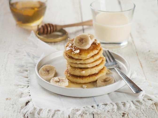 Calories in Banana Pancakes